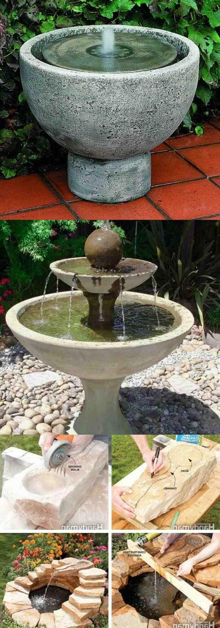 Comment faire une fontaine extérieure ?