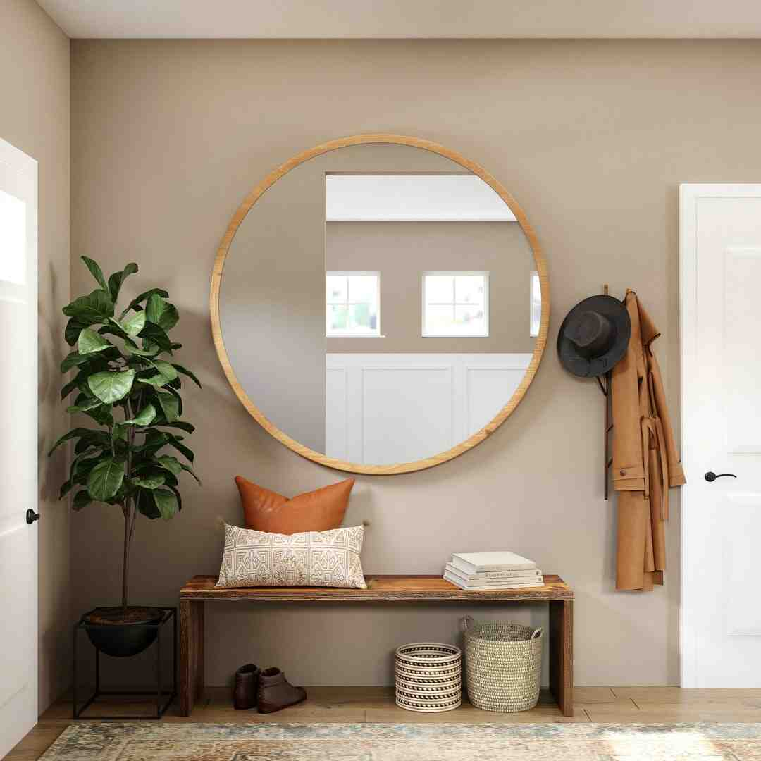 Comment fixer un miroir lourd sur un mur en placo ?