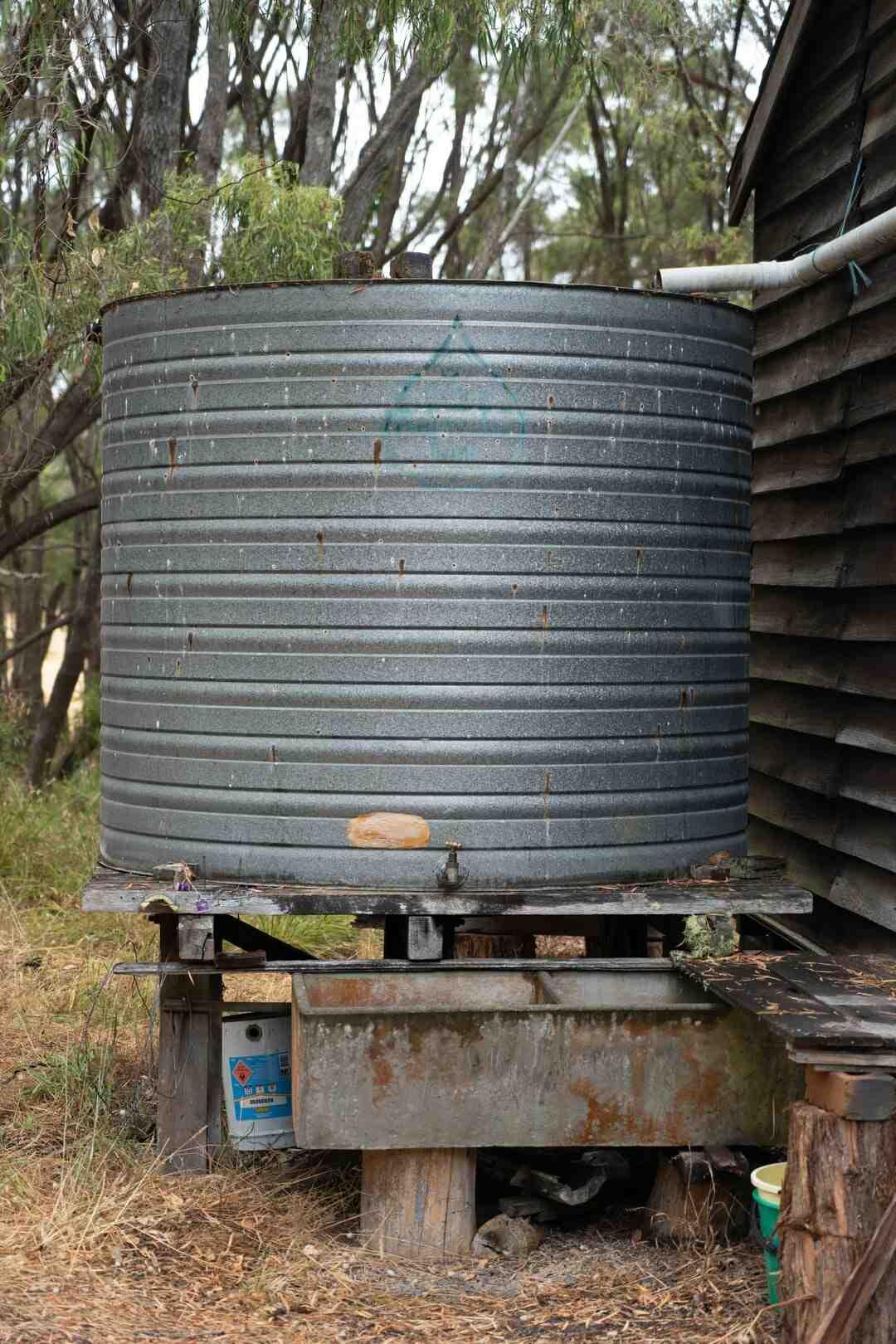 Comment recuperer eau de pluie terrasse ?