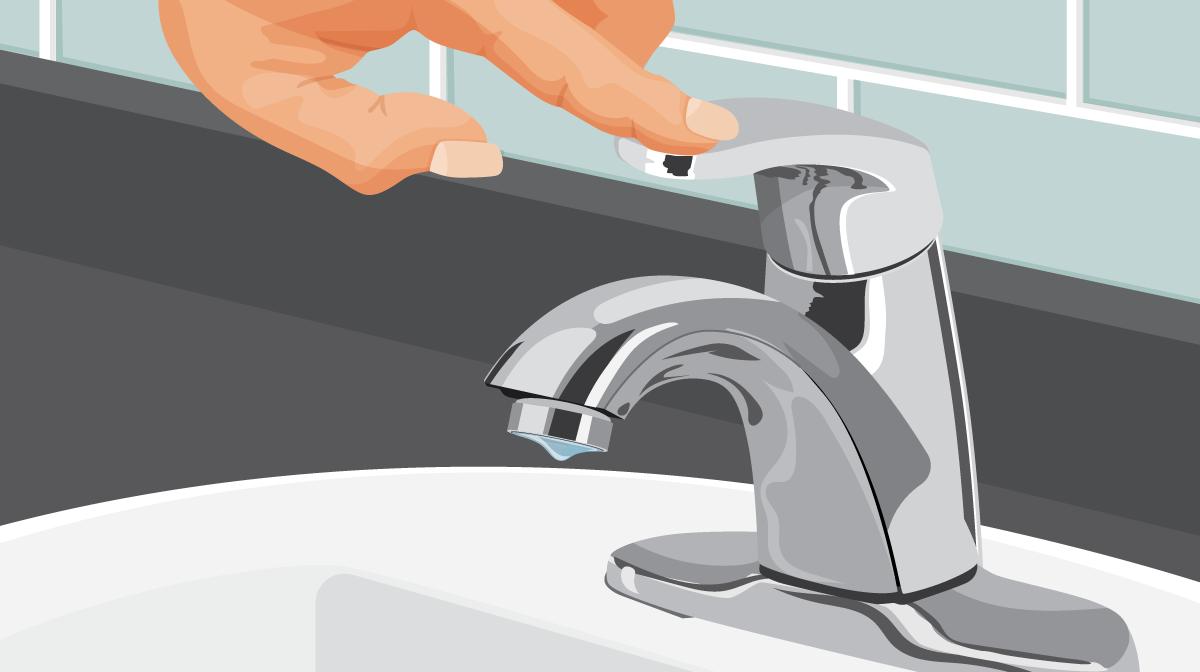 Comment changer une tête de robinet d'arrêt ?