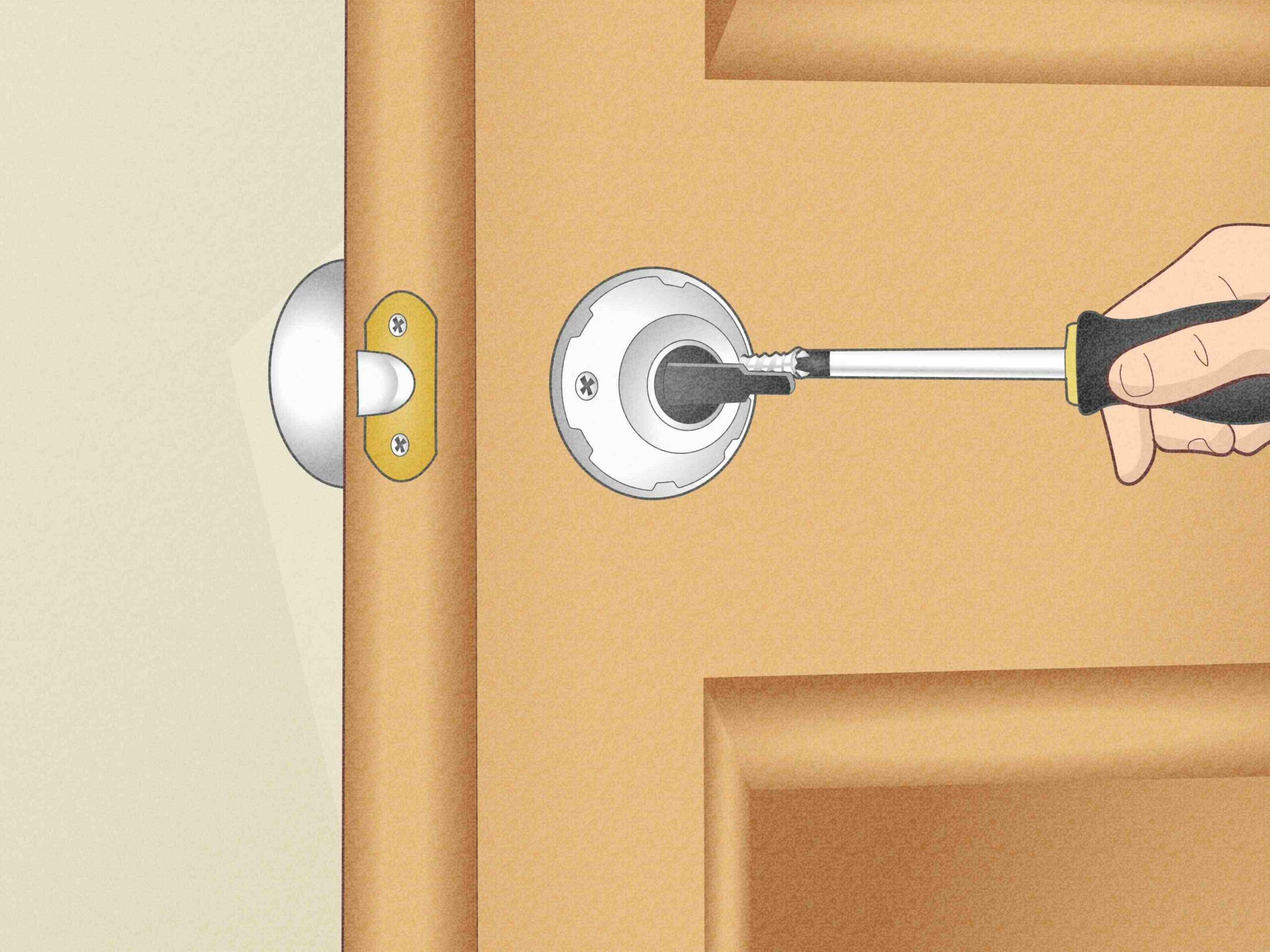 Comment installer un loquet à ressort ?