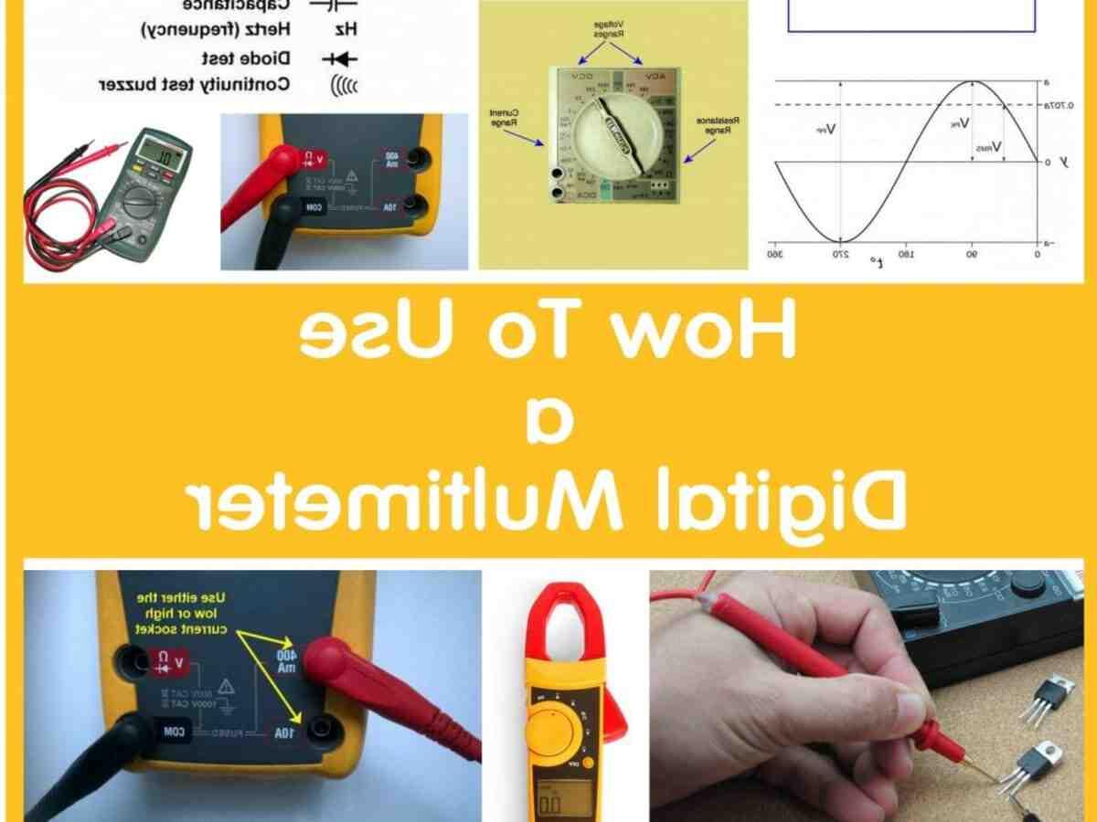 Comment tester un condensateur avec un multimètre analogique ?