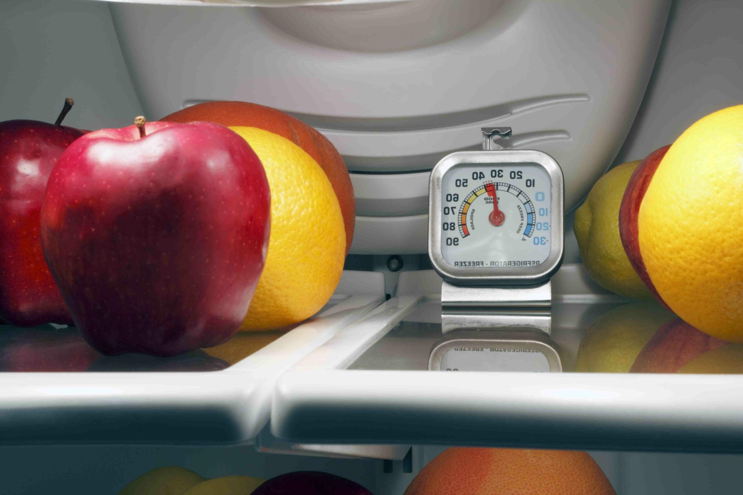 Quel est le compartiment le moins froid du frigo ?