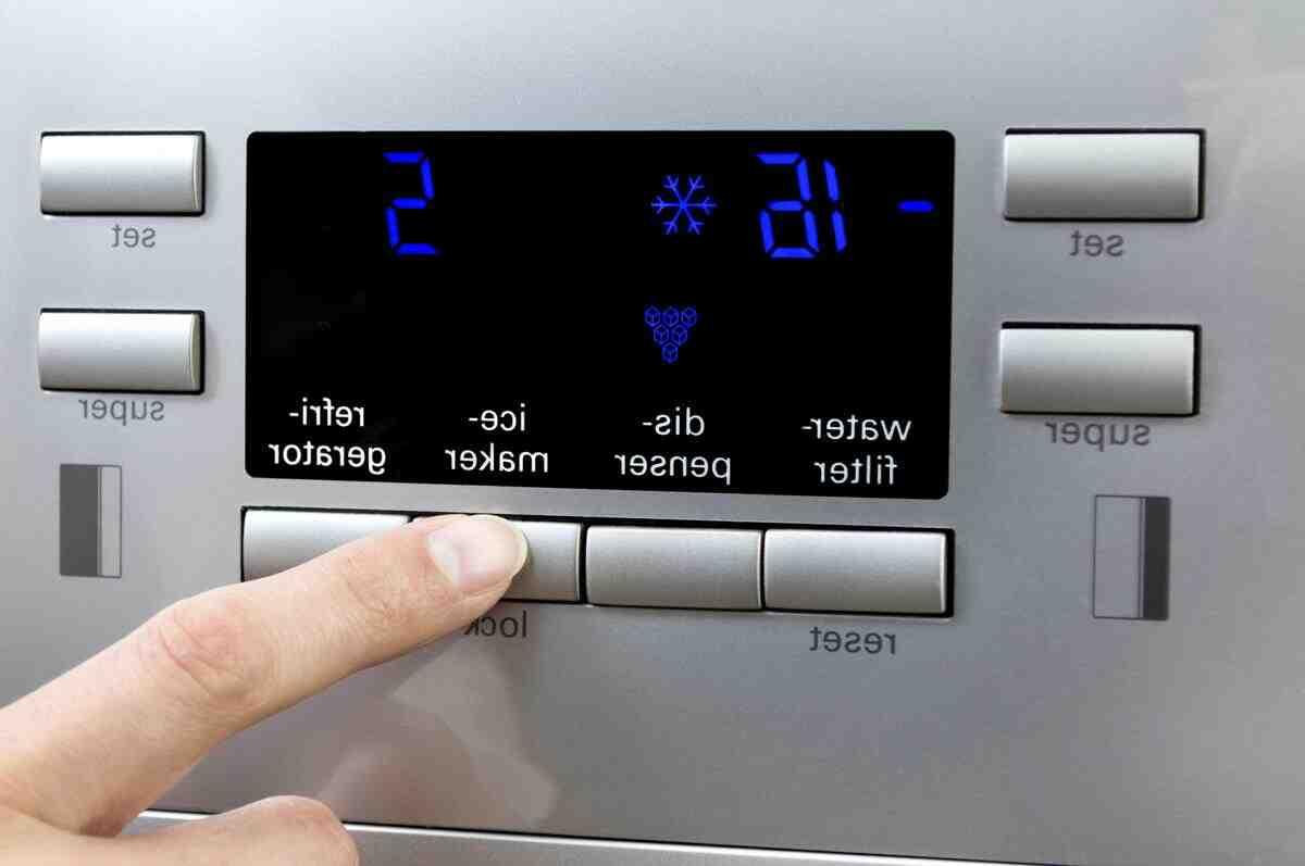 Quelle est la température la plus froide dans un frigo ?