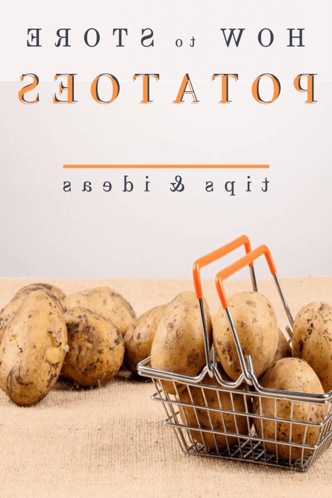 Comment conserver des pommes de terre pour pas qu'elles germent ?